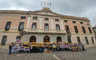 Roda de premsa dels familiars dels CDR empresonats | Pere Gallifa