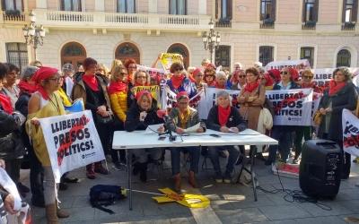 Presentació del col·lectiu a la plaça Sant Roc | Pere Gallifa