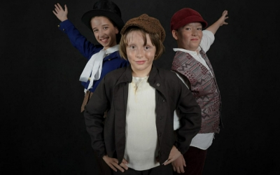 Els principals personatges infantils de l'obra | Cedida