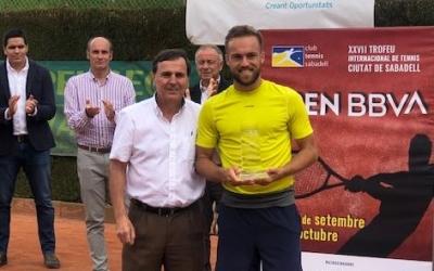 August Serra i Johan Nikles, el guanyador del torneig | CTS