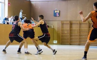 L'últim partit del Bàsquet Pia es va saldar amb derrota a Sant Cugat | Txell Doménech