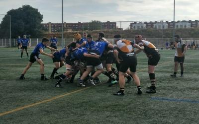 Acció de l'últim partit del masculí contra el Sant Cugat 'B' | Elena Torrero