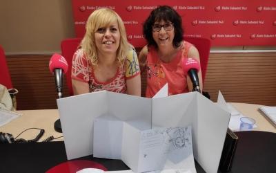 Laia Codina i Anna Fité, als estudis de l'emissora municipal | Ràdio Sabadell