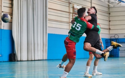 Jordi Sancho va contribuir amb cinc gols, insuficients per evitar la primera derrota gracienca | Èric Altimis - OAR Gràcia