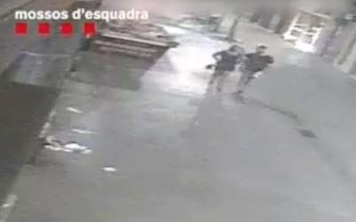 Captura d'un fragment de les imatges difoses pels Mossos