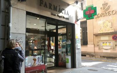 Exterior Farmàcia Miquel Blanchart/ Karen Madrid