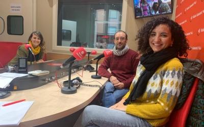 D'esquerra a dreta, Margarita Balaguer, Alberto capitán i Marta Vila | Ràdio Sabadell