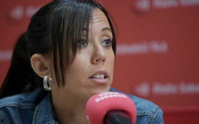 Marta Farrés, en una entrevista a Ràdio Sabadell/ Roger Benet