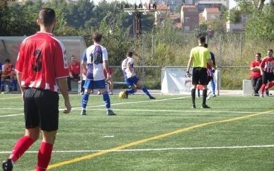 El més necessitat dels equips sabadellencs, el Tibidabo, va sumar la seva segona victòria a la lliga | Sergi Park