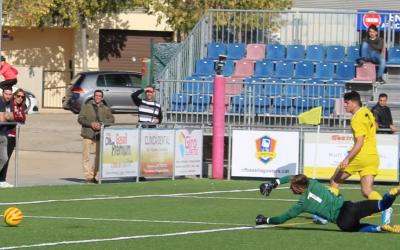 Armand Vallès va fer dos dels tres gols blaugranes | @lluis_ru - CE Mercantil