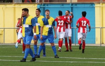 L'alegria osonenca amb el gol de Peque contrasta amb la decepció sabadellenca | Adrián Arroyo