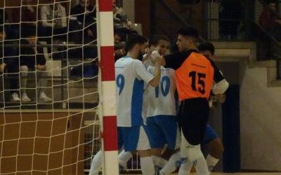 Celebració d'un gol del Club davant del Pallejà | Sergi Park