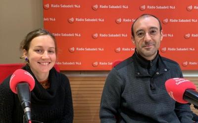 Capitan i Collignon a Ràdio Sabadell/ Mireia Sans