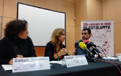 Montse González, Muntsa Vilalta i Ramon Ferrando a la presentació del calendari del 2020 | Helena Molist