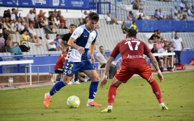 Pascual, en un compromís d'aquesta temporada a casa contra el Castellón | Críspulo Díaz