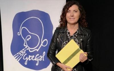 Cesca Rodríguez en la gal·la dels Premis Gregal | Cedida