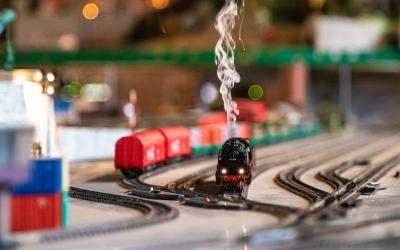 Un dels trens més espectaculars dels que circulaven per la maqueta | Roger Benet