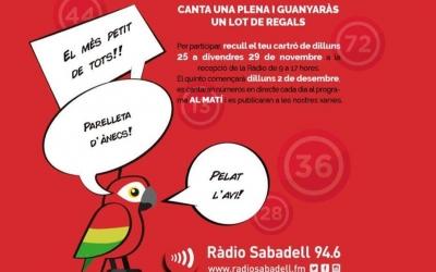A Ràdio Sabadell comencem a impulsarun Quinto per tots els nostres oients i seguidors