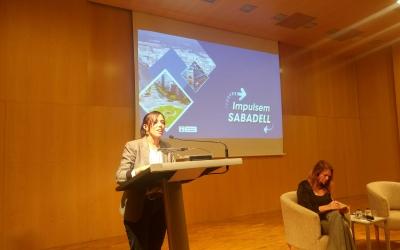 L'alcaldessa Marta Farrés, al cinquè debat '9 compromisos per Sabadell'   Ràdio Sabadell