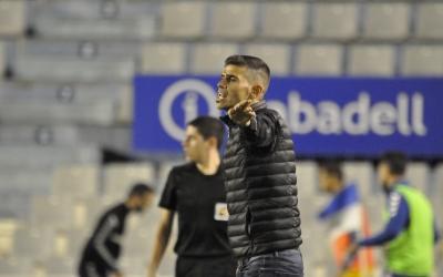 Hidalgo, durant el partit d'ahir | Críspulo Díaz