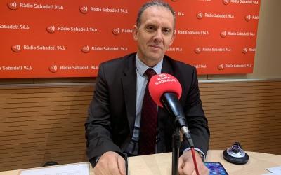 José Miguel García Gallego, president de la Comissió d'Igualtat i Violència de l'ICASBD | Mireia Sans