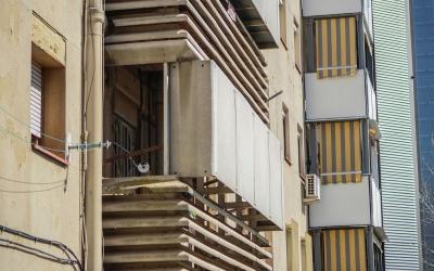 Estructures d'amiant a Badia del Vallès | Cedida