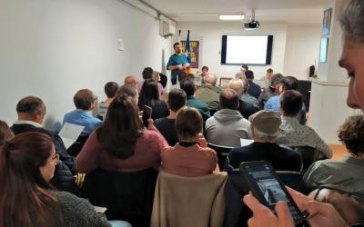L'assemblea d'ESquerra va revalidar la presidència de Santi Valls | Cedida