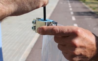Instal·lació de cable antirobatori a Sabadell | Ajuntament de Sabadell