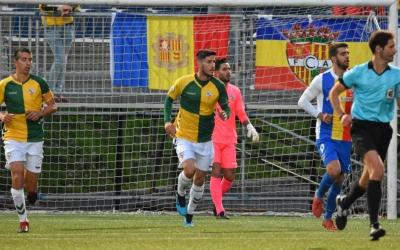 Pedro Capó i Aleix Coch, en el duel contra l'Andorra | Críspulo Díaz