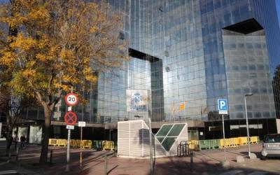 Exterior Jutjats de Sabadell/ ACN