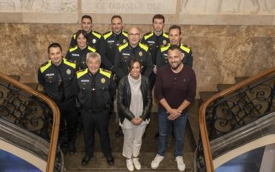 La Policia Municipal nomena cinc caporals i dos sotsinspectors | Ajuntament de Sabadell