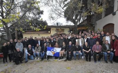 Fotografia de família del dinar de Nadal del Centre d'Esports | Críspulo Díaz