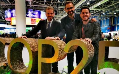 Nil López, Ignasi Giménez (centre) i Carles Rodríguez | @carlesrod