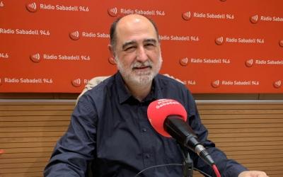 Xavier Garcés, alcalde de Barberà, a Ràdio Sabadell/ Mireia Sans