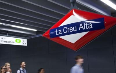 Imatge de l'estació La Creu Alta dels Ferrocarrils | Cedida
