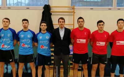 El Natació Sabadell es juga sortir del descens contra un rival directe | Tennis Taula CN Sabadell