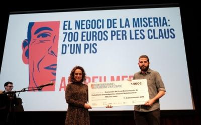 Andreu Merino, guanyador del premi Ramon Barnils | Adria Costa Rifà