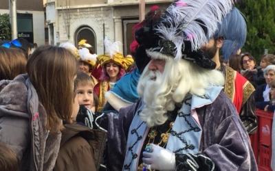 L'Ambaixador Reial en la seva arribada a Sant Roc l'any passat | Ràdio Sabadell