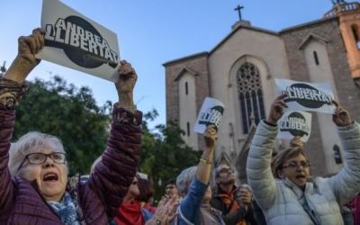 Manifestació de suport a l'Andrea fa un mes a Sabadell | Roger Benet
