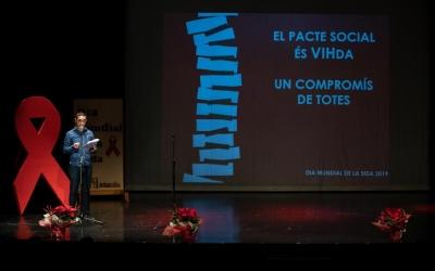 JoanOffroy, president d'ActuaVallès, en l'acte d'aquest vespre | Helena Molist