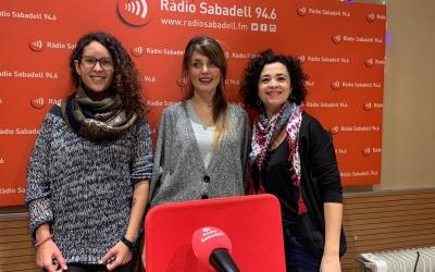 Silvia Mestres, Anna Rodríguez i Mireia Rico, membres de la comissió/ Mireia Sans