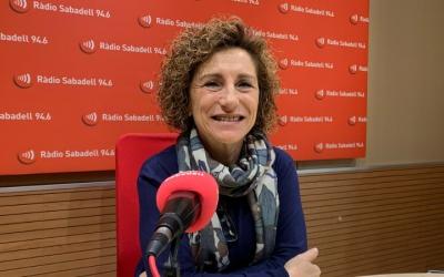 Isabel Garcia, alcaldessa de Santa Perpètua/ Mireia Sans