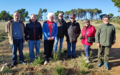 La Plataforma Salvem el Bosc de Can Deudemanaun Consorci público-privat liderat per l'Ajuntament per reforestar la zona | Pau Duran