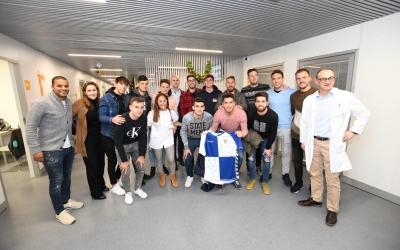 Part de la plantilla ha visitat l'Hospital General de Catalunya | Críspulo Díaz