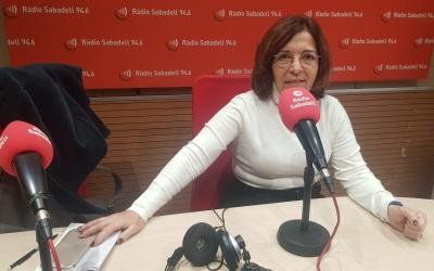 Mercè Calvet, directora del Rebost Solidari | Raquel García
