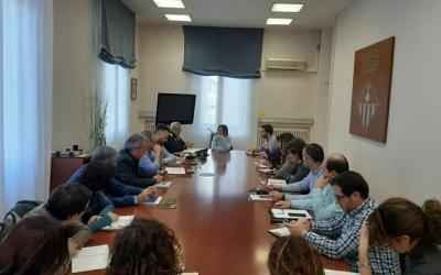 Imatge de la reunió del Comitè d'Emergències | Ajuntament de Sabadell