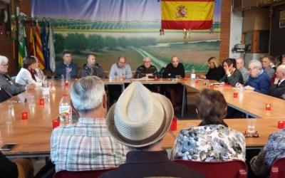 Debat sobre la Constitució a l'agrupació andalusa San Sebastián de los Ballesteros | Pau Duran