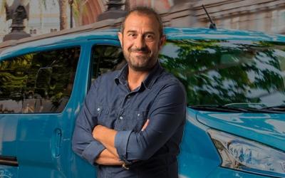 Eloi Vila, al costat de 'El Cotxe'/ TV3