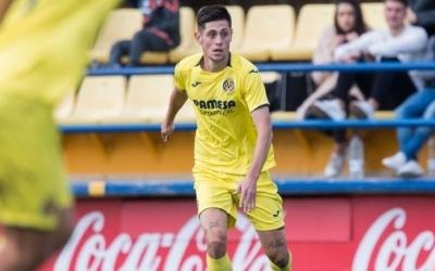 Beitia defensant els colors groguets al Mini Estadi | Villarreal CF