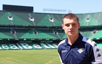 Xiker Ozerinjauregi a l'estadi Benito Villamarín | Informa Betis